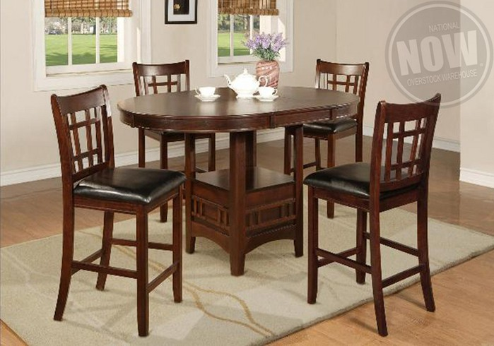 Hartwell Counter Height Dining Table And 6 Side Chairs Cincinnati