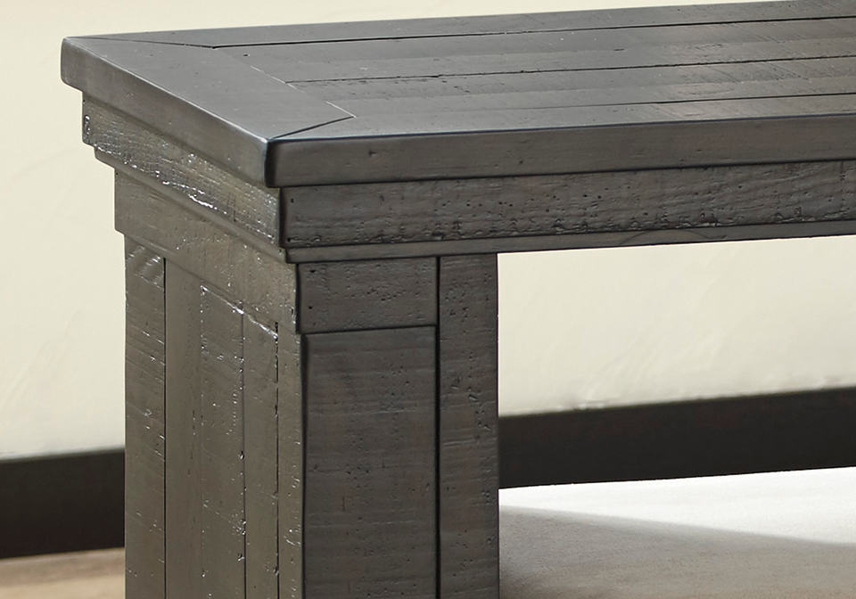 The Solid Pine Wood Is All The More Richly Rustic With Plank Styling For  Homey Charm. Elements Including English Dovetail Craftsmanship And  Felt Lined Top ...