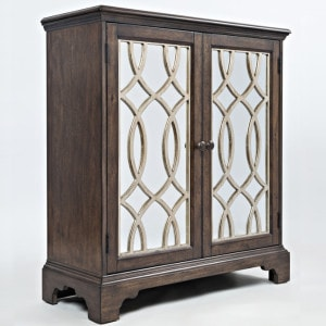JF-1560-32-Casa-Bella-32-Accent-Cabinet-Chestnut-with-Vintage-Silver2
