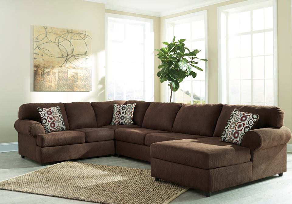 6490417 Jayceon Java Raf Chaise Sectional1 Cincinnati Overstock Warehouse