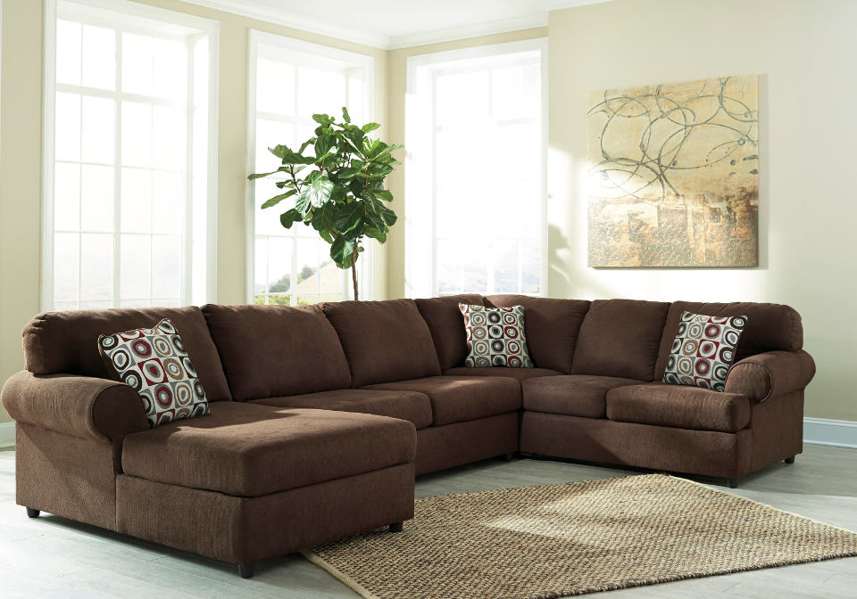 Jayceon Java Laf Chaise Sectional