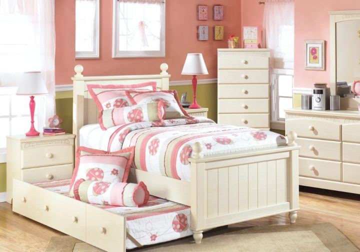 AF-B213-50-51N-52N-83NB100-82 Cottage Retreat Twin Trundle Bed2