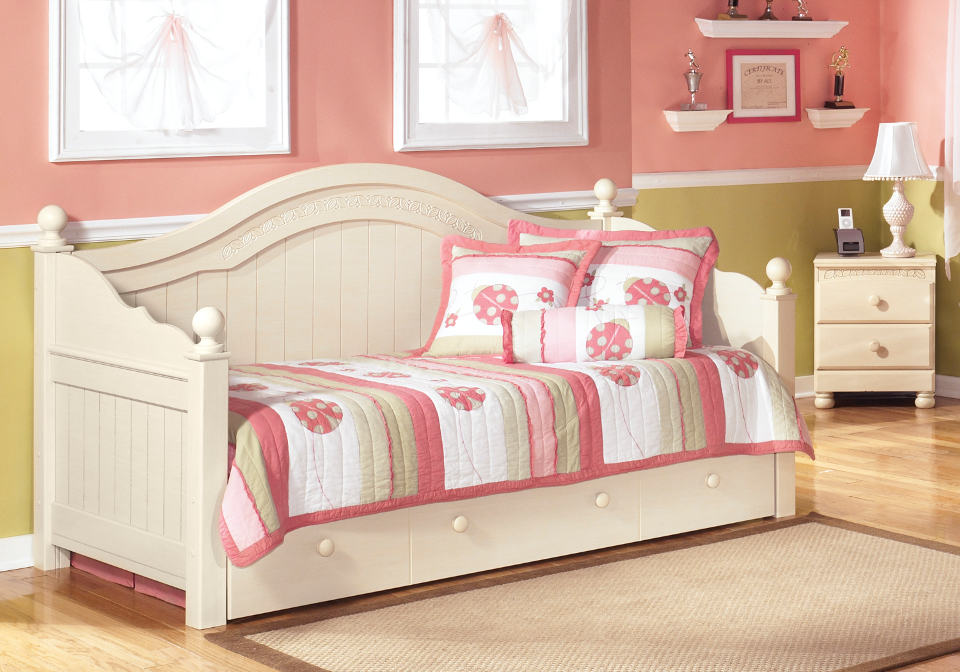 cottage retreat daybed with trundle home shop youth twin beds cottage