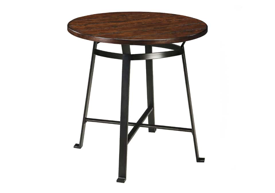 table home shop dining room tables challiman round drum counter table