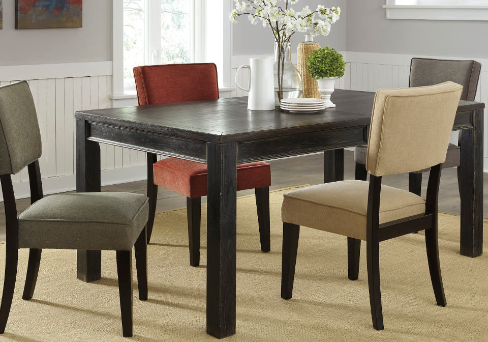 gavelston rectangular dining room table home shop dining room tables