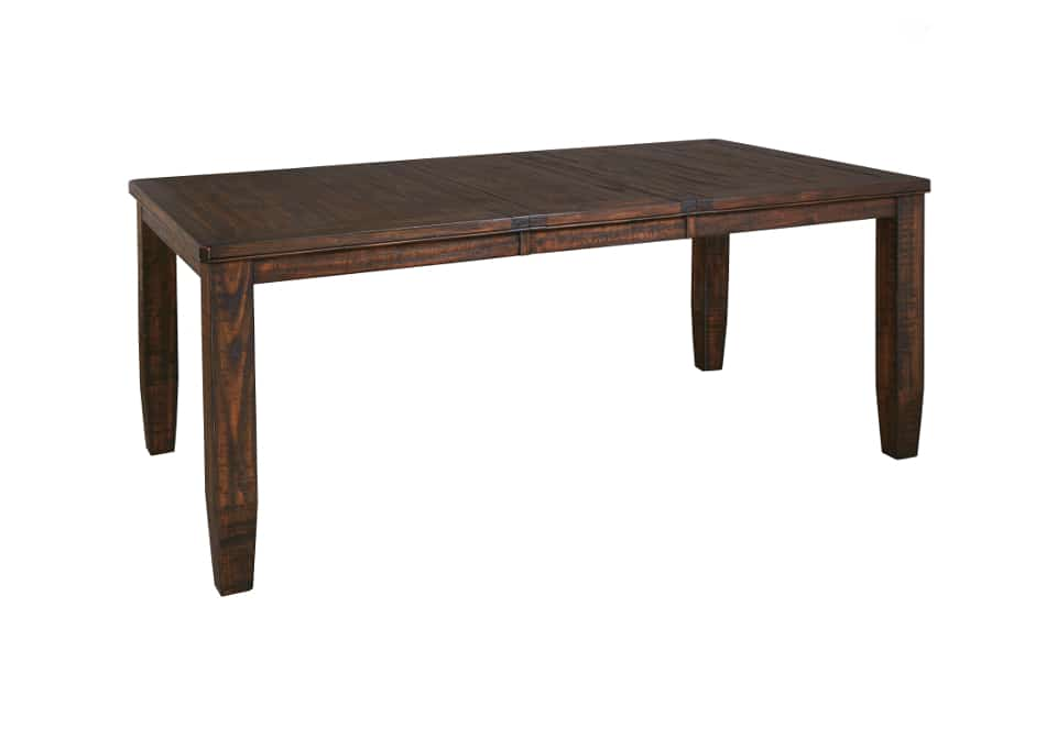 Trudell dining room extension table for Extension dining table