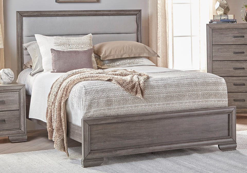 Ladonia queen bed - Queen bed ideas for small room ...