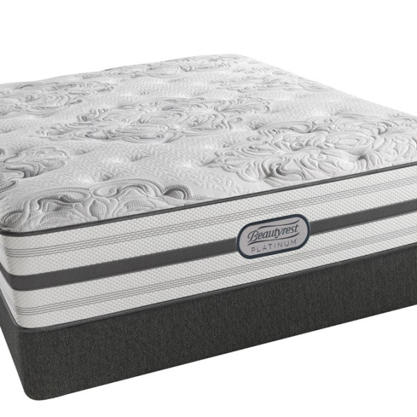 beautyrest platinum brittany lux firm queen mattress