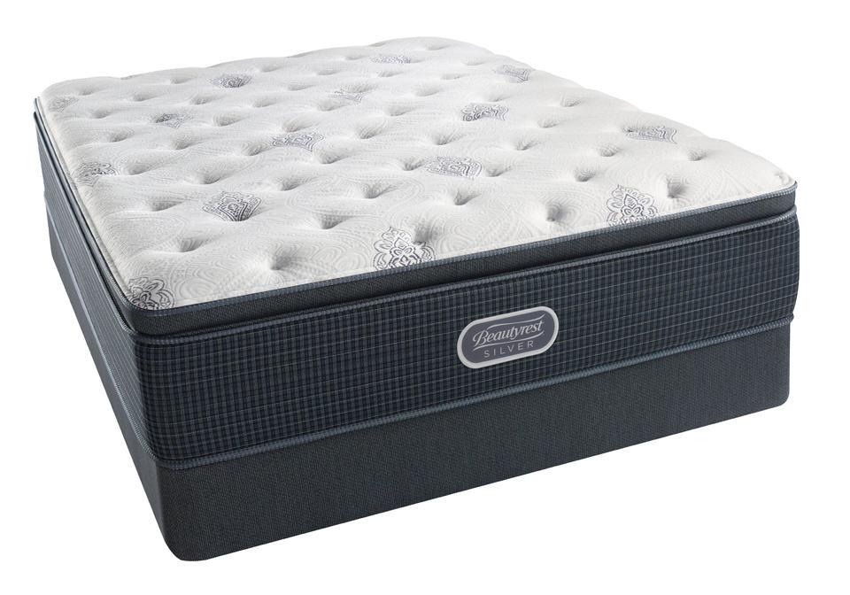 Beautyrest silver open seas pillow top luxury firm queen for Best pillow for firm mattress