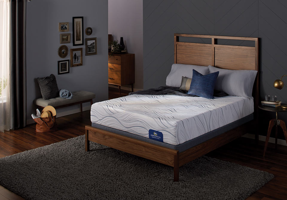Serta Caledonian Plush Twin Mattress Only