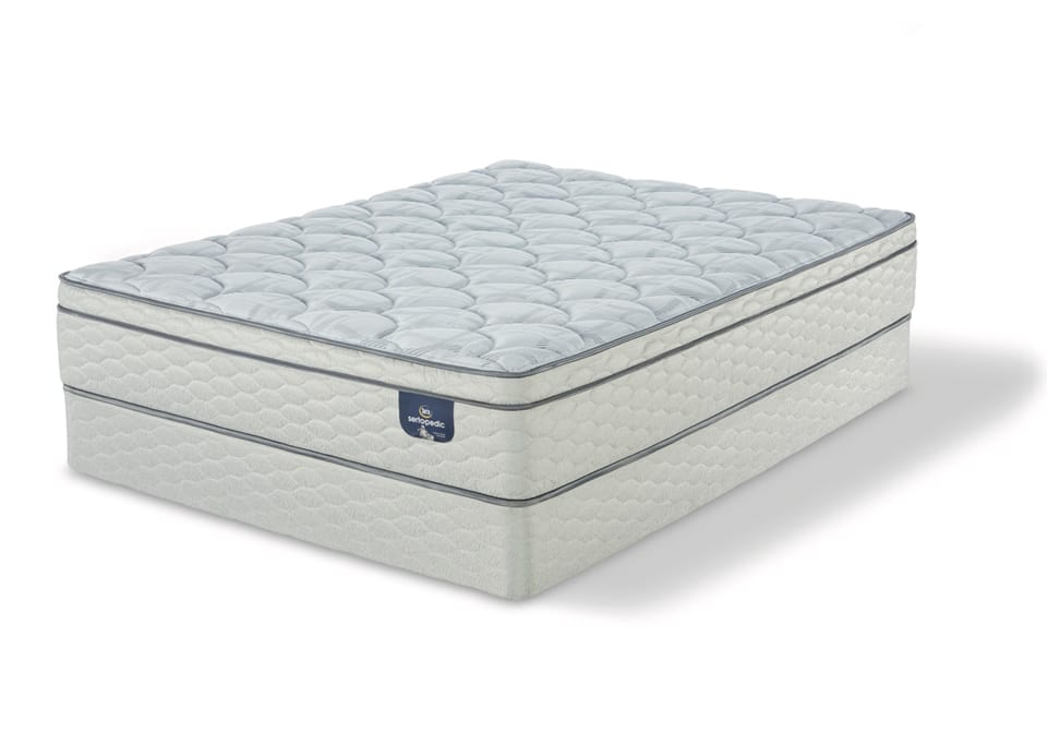 Serta Sanborn™ ET Twin XL Mattress Set