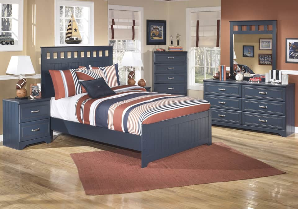 Fine Leo Blue Youth Full Panel Bedroom Set Download Free Architecture Designs Scobabritishbridgeorg