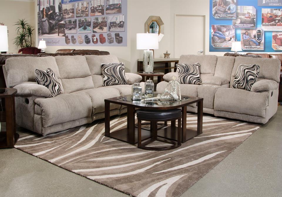 Catnapper Jules Pewter Reclining Sofa Cincinnati