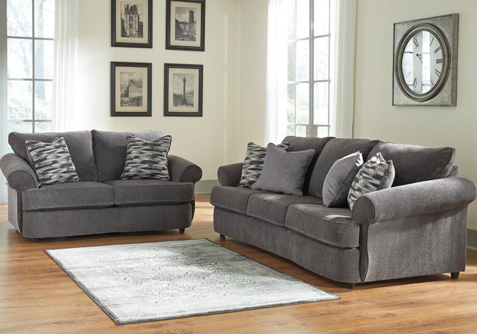 Allouette Ash Sofa Set Cincinnati Overstock Warehouse