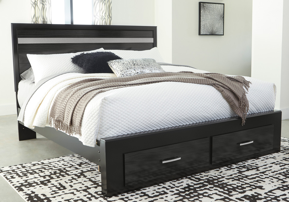 Starberry Black Queen Storage Bed Cincinnati Overstock