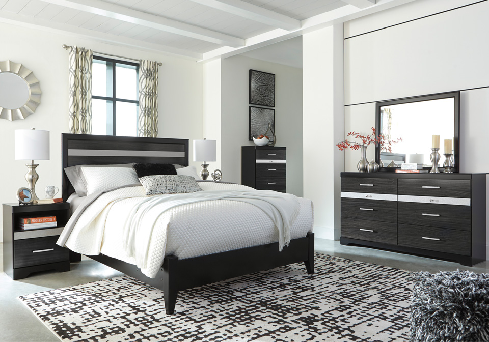 Starberry Black King Panel Bedroom Set | Cincinnati Overstock Warehouse