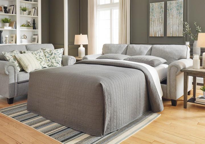 Fantastic Alandari Gray Queen Sleeper Sofa Home Interior And Landscaping Ologienasavecom