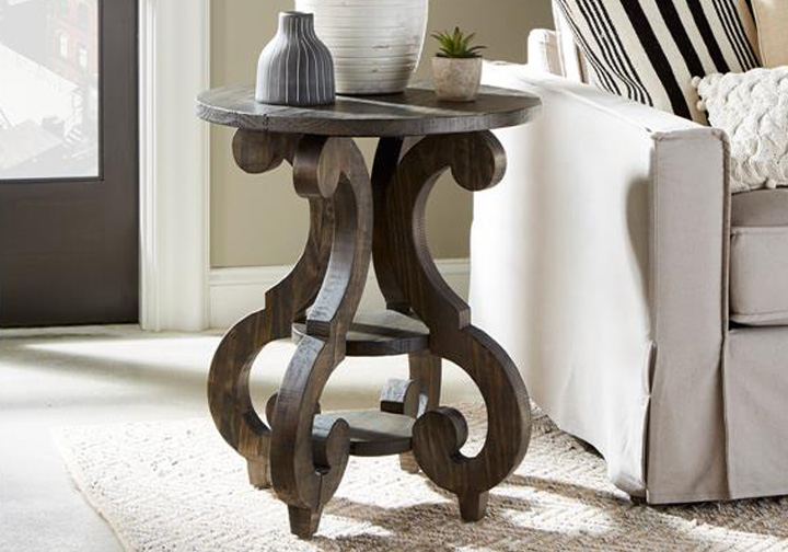 Amazing Bellamy Round Accent End Table Pdpeps Interior Chair Design Pdpepsorg