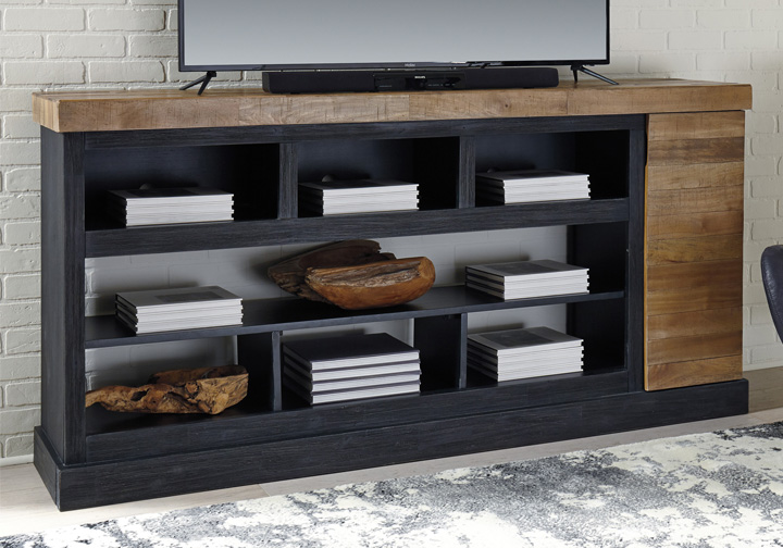 Tonnari Two Tone Brown Extra Large Tv Stand