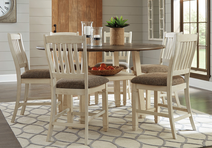 7 Pc Round Dining Room Set