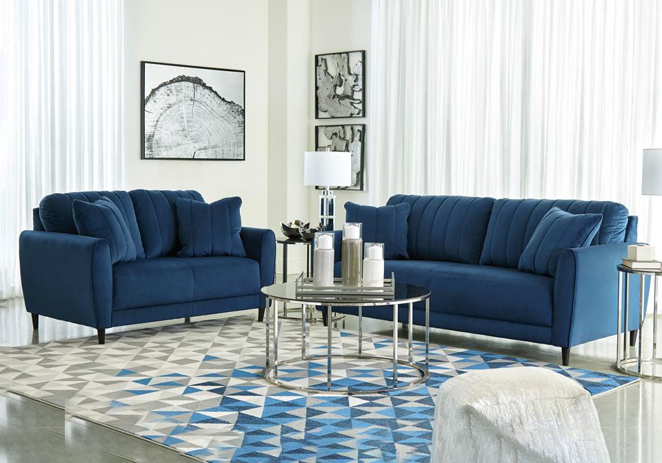 Groovy Enderlin Ink Sofa Set Inzonedesignstudio Interior Chair Design Inzonedesignstudiocom