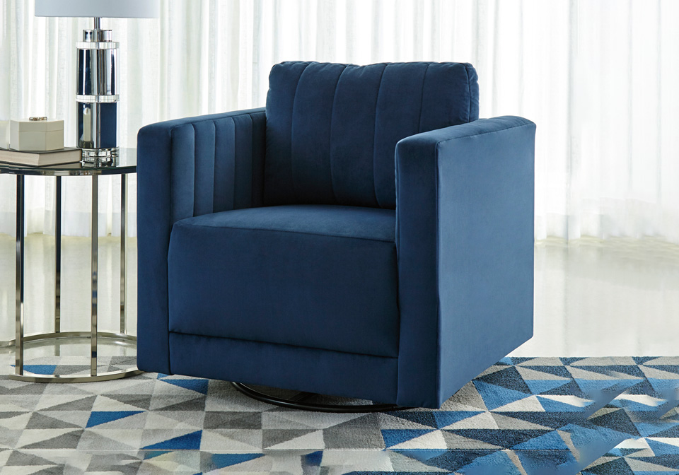 Brilliant Enderlin Ink Swivel Accent Chair Machost Co Dining Chair Design Ideas Machostcouk