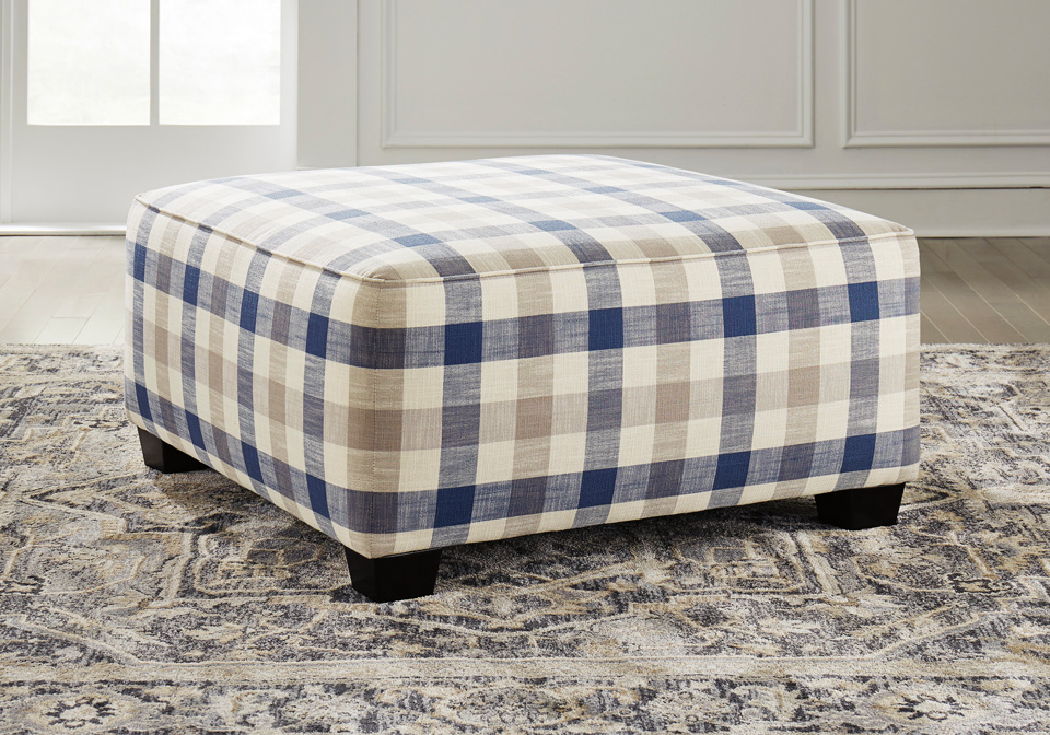 huge selection of 741bf c0ca7 Meggett Nautical Oversized Accent Ottoman