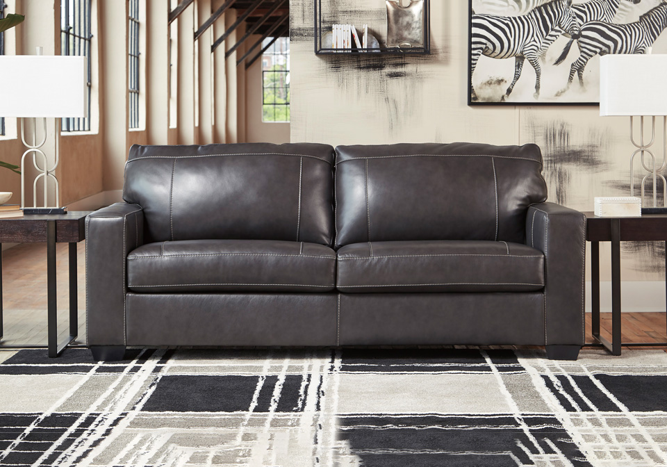 Morelos Gray Sofa Cincinnati Overstock Warehouse