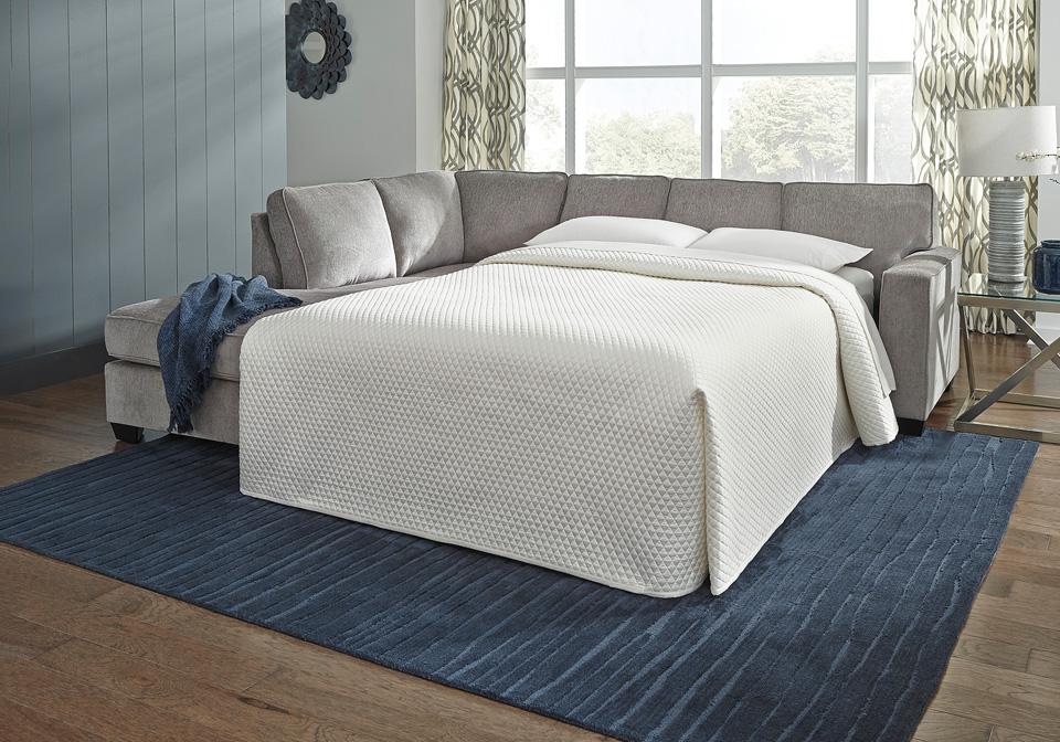 Remarkable Altari Alloy Raf Full Sleeper Sofa W Laf Chaise Short Links Chair Design For Home Short Linksinfo