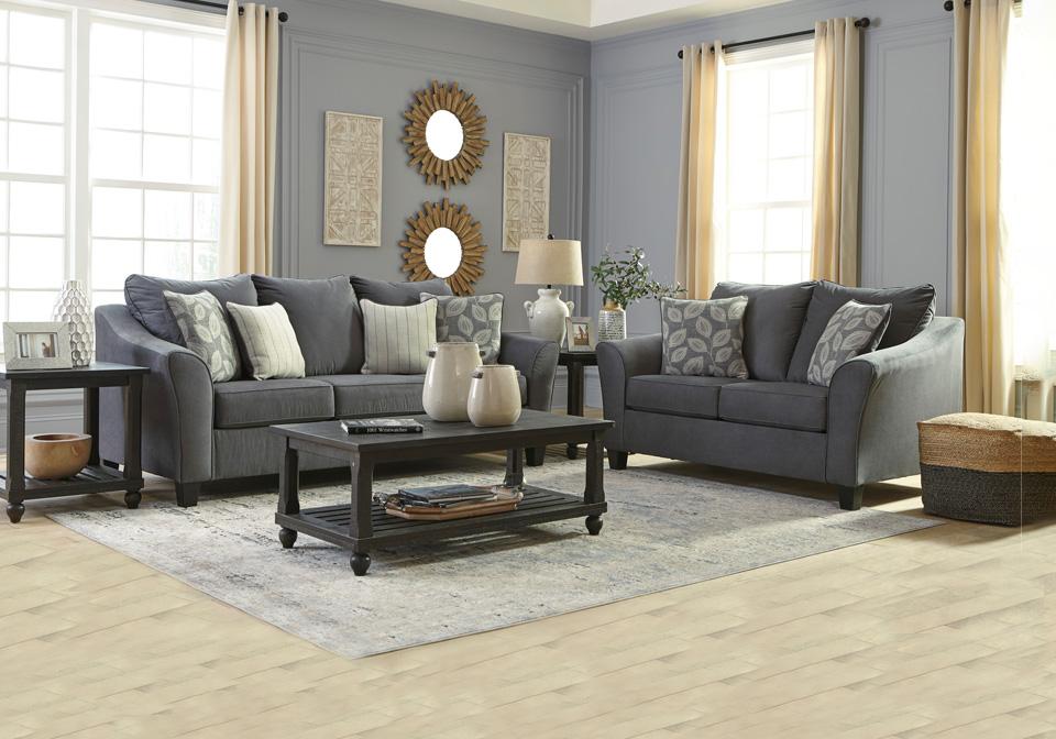 Excellent Sanzero Graphite Sofa Set Creativecarmelina Interior Chair Design Creativecarmelinacom