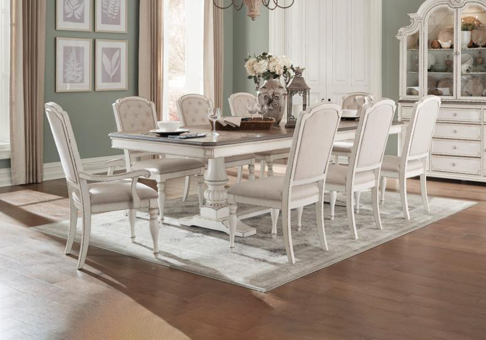 Ashland Two Tone Dining Table