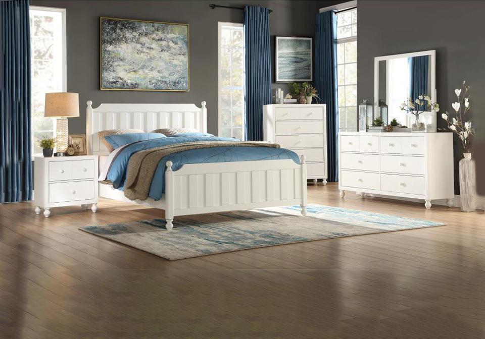 tinley white full bedroom set | cincinnati overstock warehouse